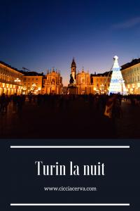 piazza san carlo de nuit