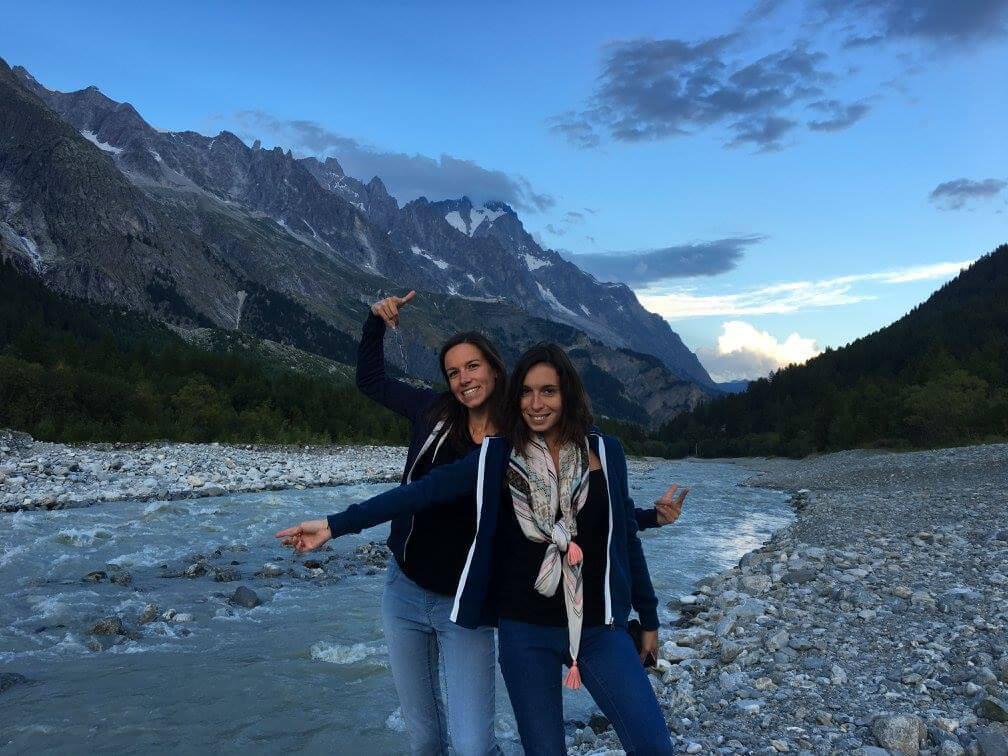 Aperitivo ai piedi del Monte Bianco