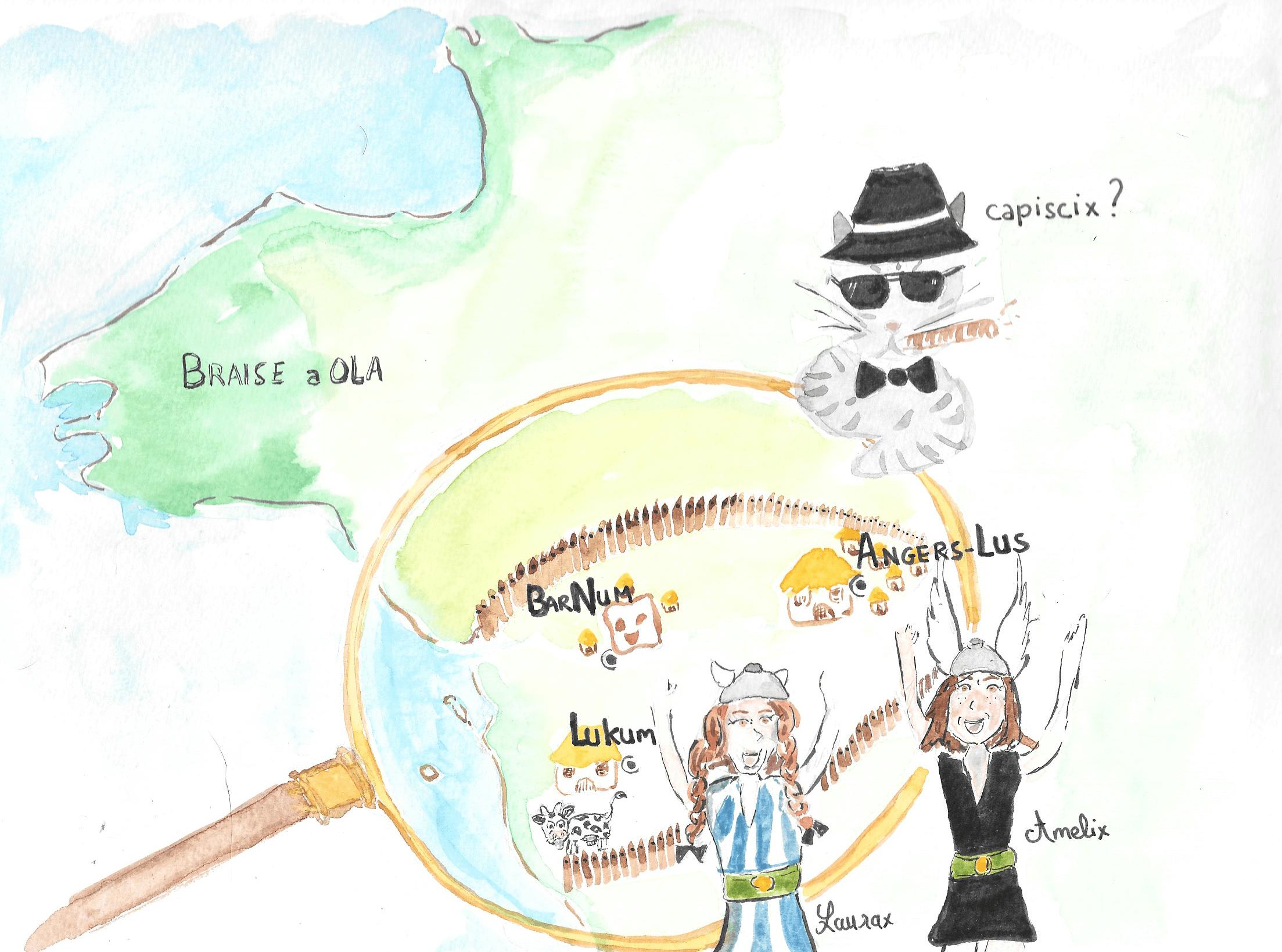 dessin ouest de la france
