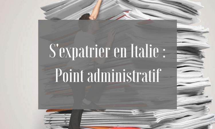 expatriation en italie les informations