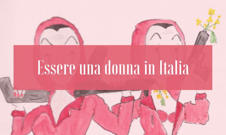 essere una donna in italia