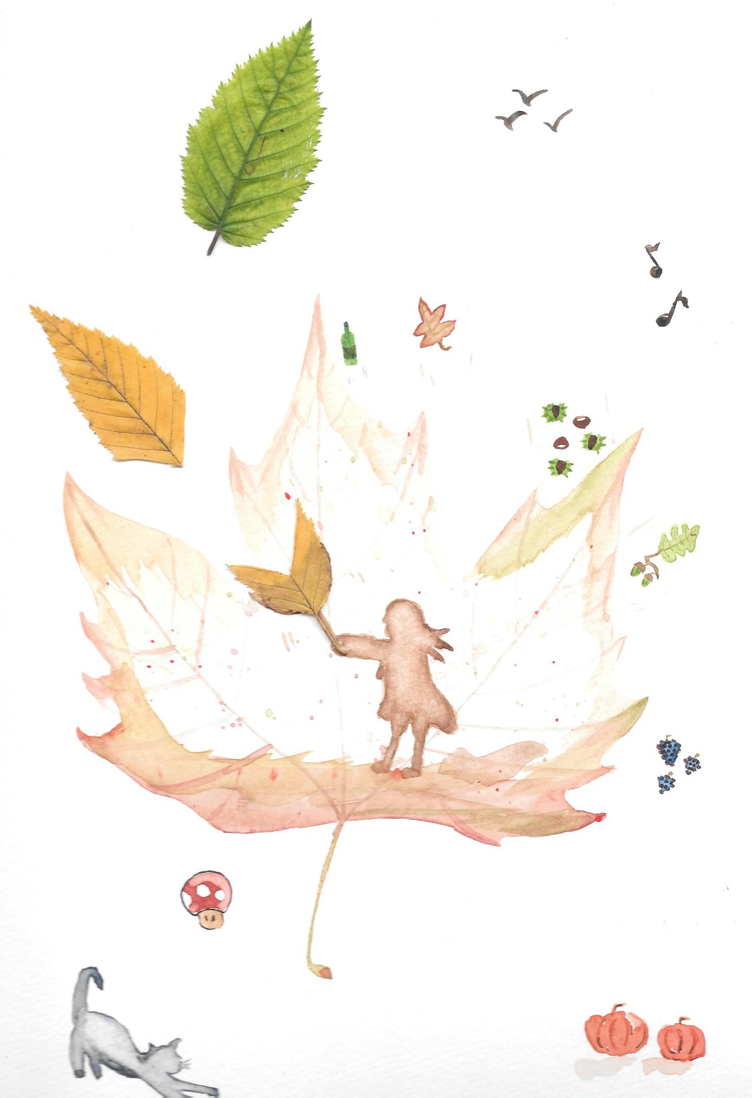 Vivre dans le Piémont en automne
