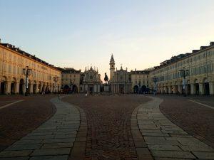 Piazza San Carlo Turin centre ville