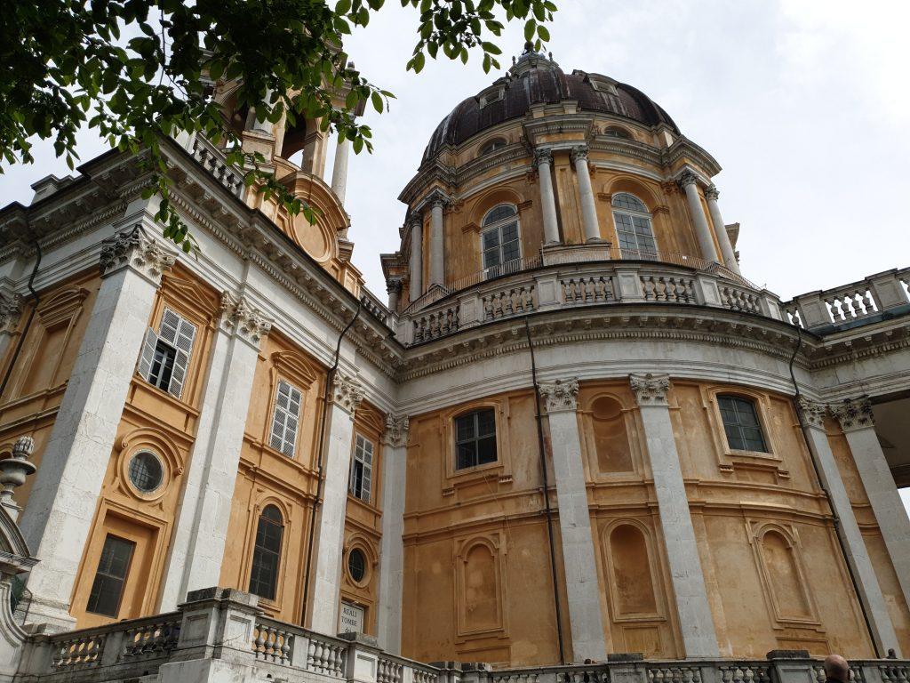 La basilique de Superga à Turin
