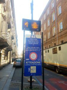 ZTL Turin Italie