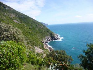 Sentiers des cinq terre en italie