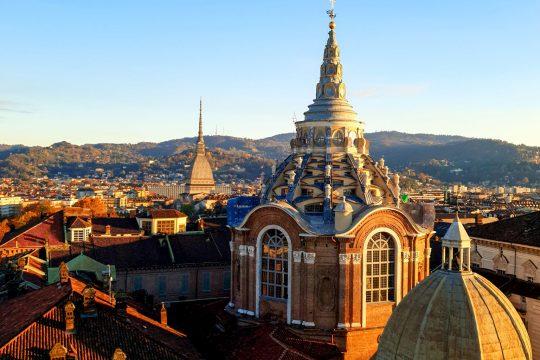 vista sui tetti di Torino