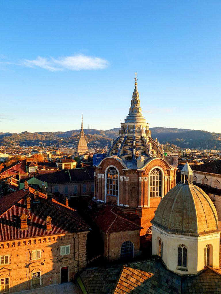 vue sur Turin dome