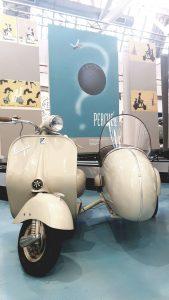 Visite du musée Piaggio a Pontedera