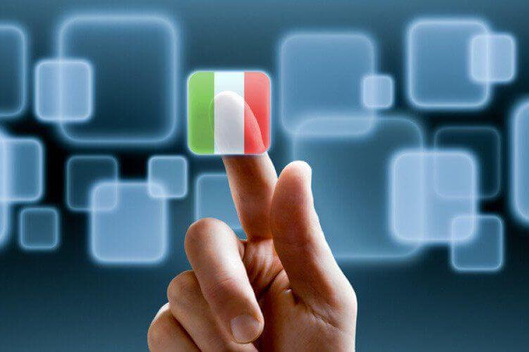 les italiens et le numerique
