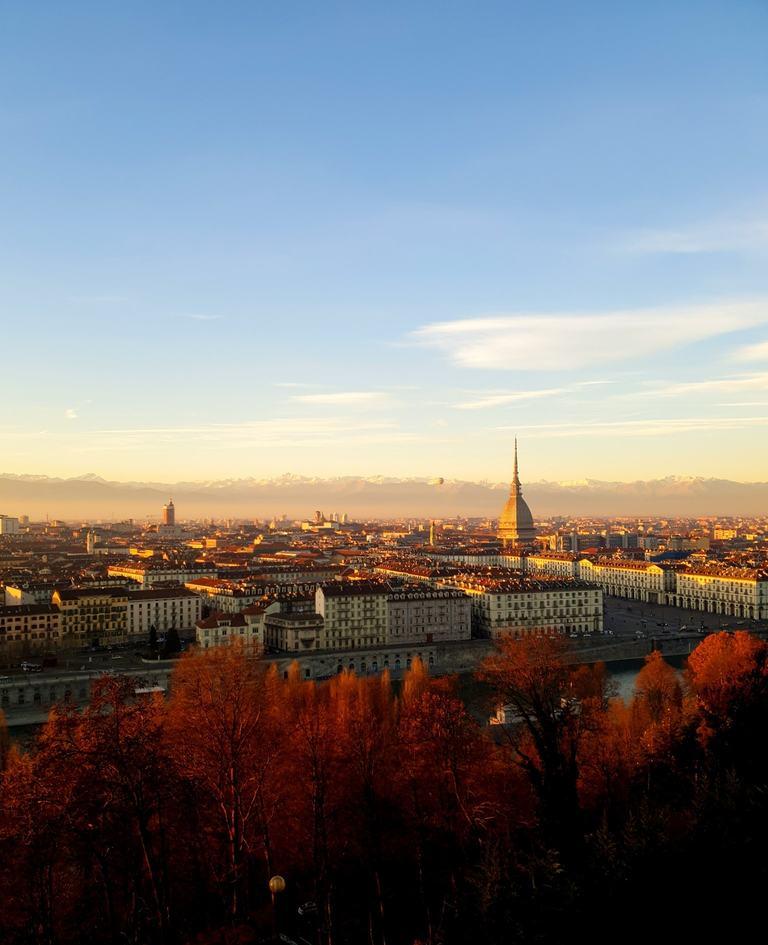 Turin monte dei Capuccini automne
