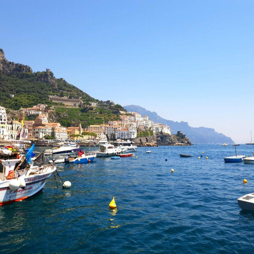 Cote Amalfitaine : mer