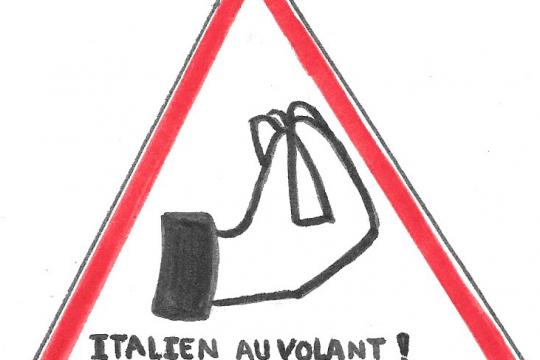 italiens au volant