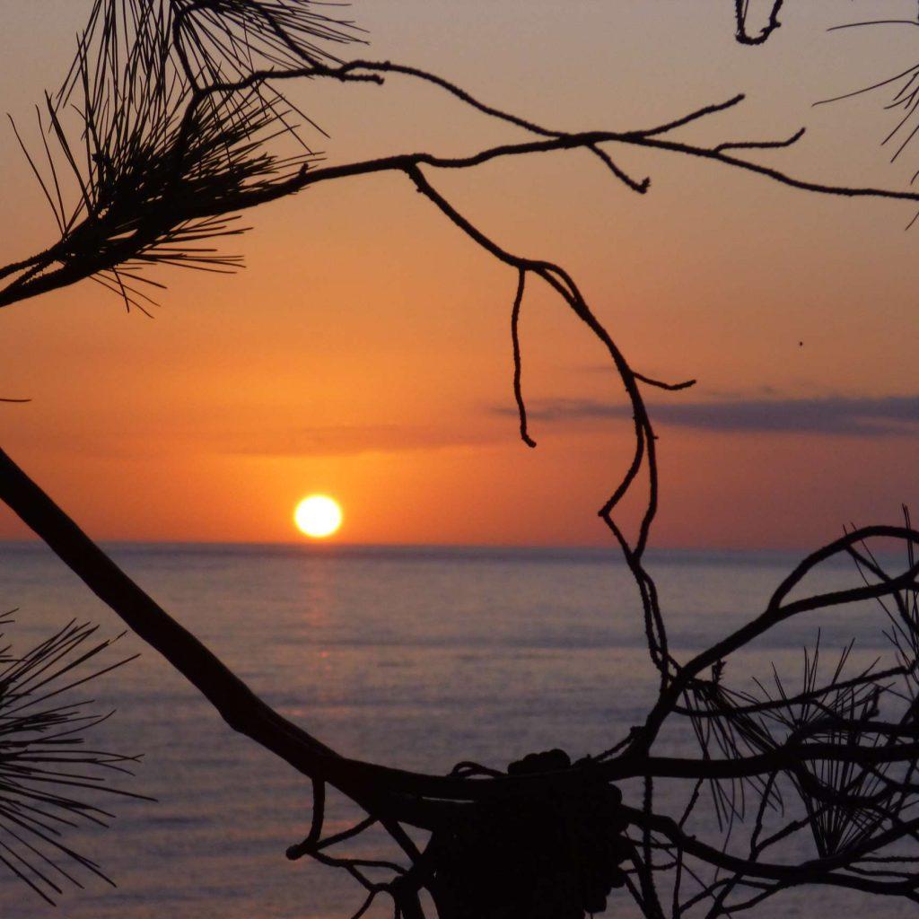 Gargano Pouilles : lever de soleil