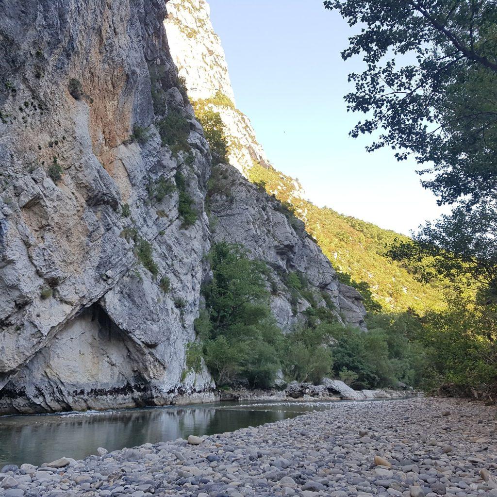 Gorges du verdon : ruisseau