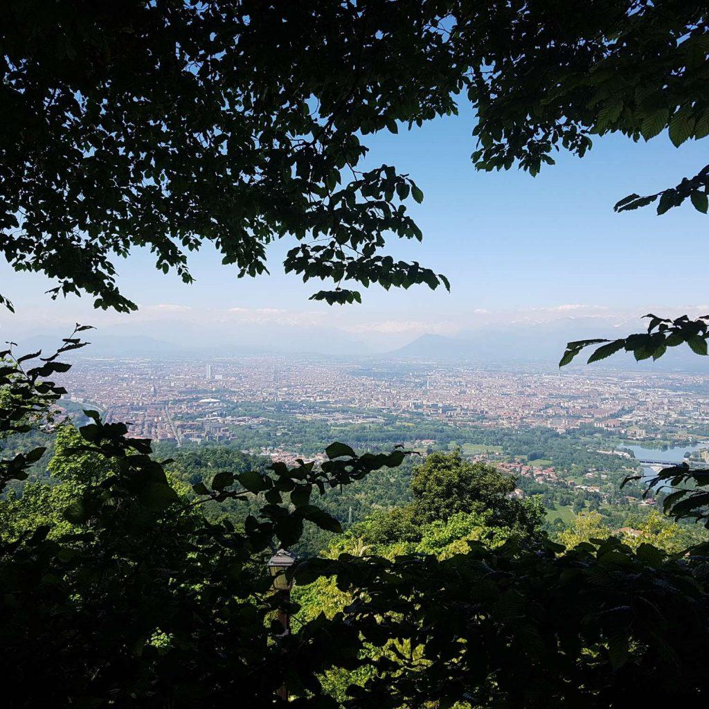 Superga vue de Turin
