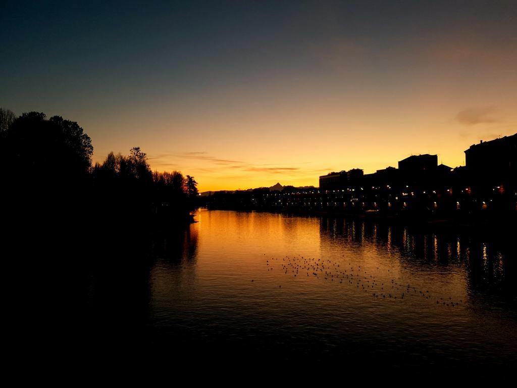 Turin Coucher Soleil