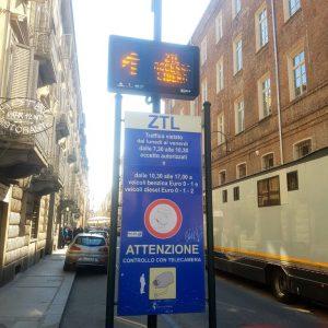 information ZTL à Turin