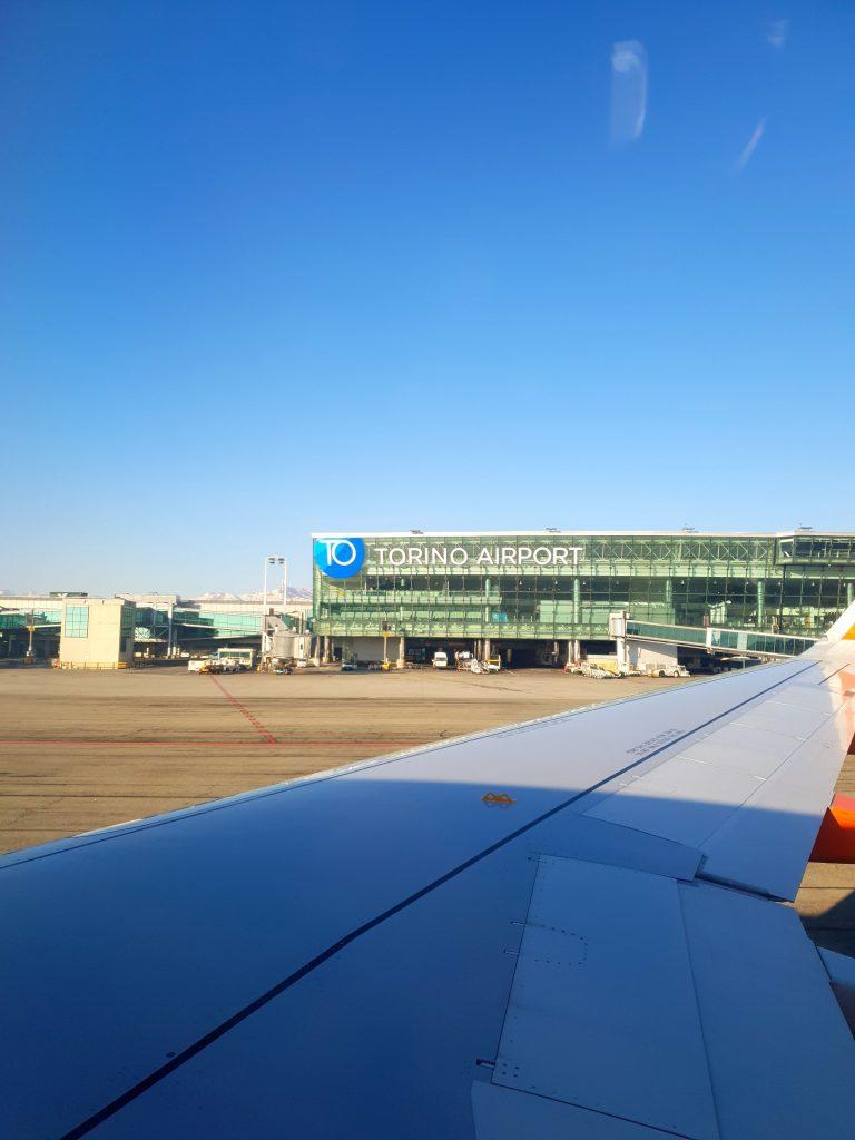 arrivée à Turin aéroport