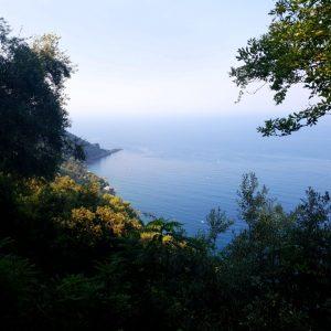 trekking nel parco del portofino