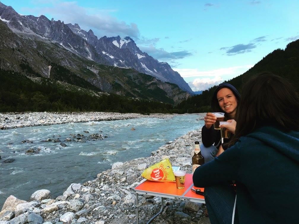 aperitivo fiume del monte bianco