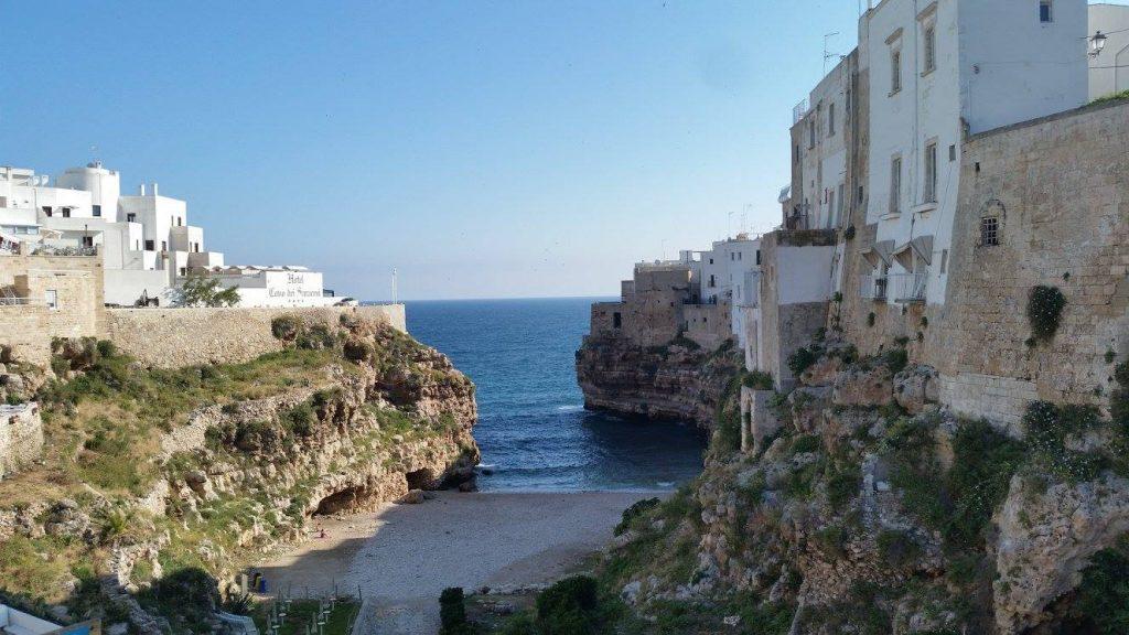 Visite matinale de Polignano a Mare