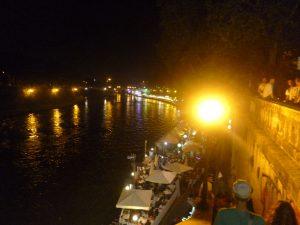 Vie nocturne à Rome