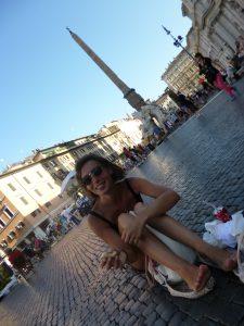 Déjeuner au calme Piazza Navona