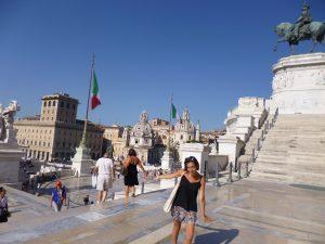 Monument Vottorio Emanuele Rome