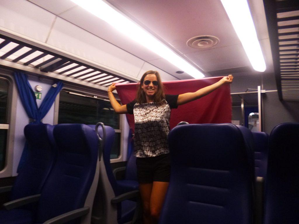 Viaggiare in treno cinque terre