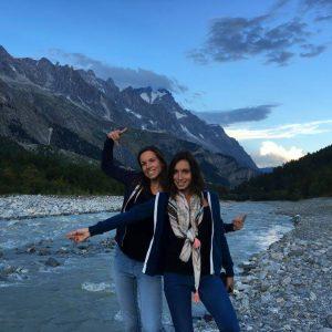 balade au pied du Mont Blanc Italie