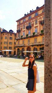 balade dans Turin en été