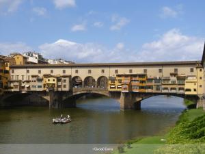 dans les rues de Florence en été