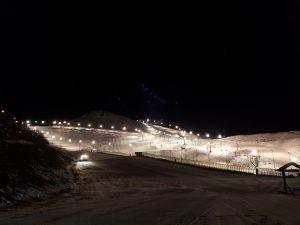 ski nocture prato nevoso piemont