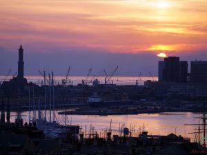 port de gênes ligurie