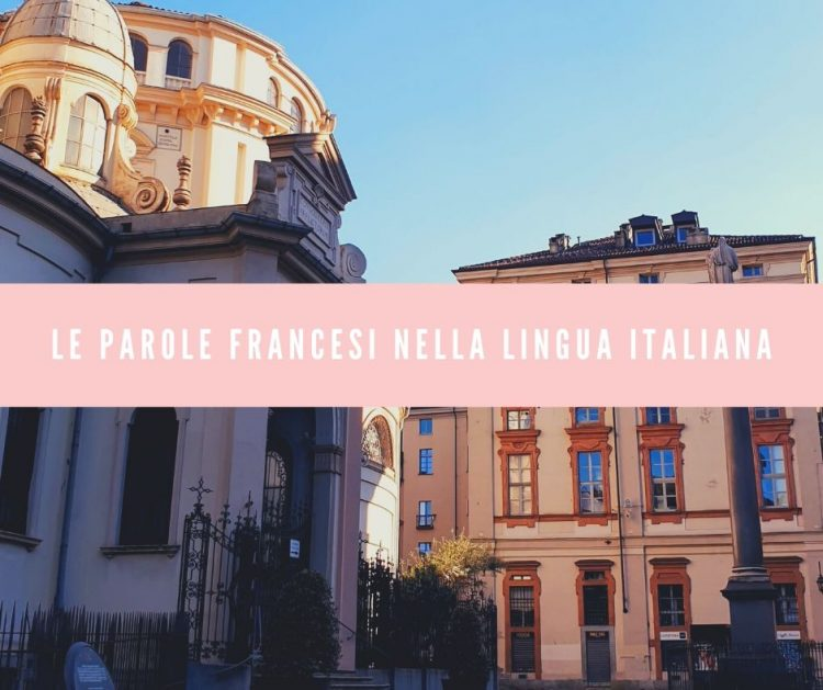 il francese nella lingua italiana