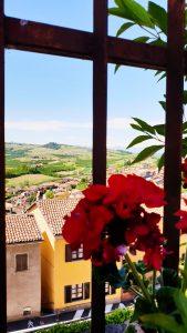 Vue sur les Langhe Piemont