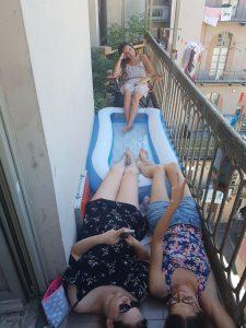 vie en italie entre amies
