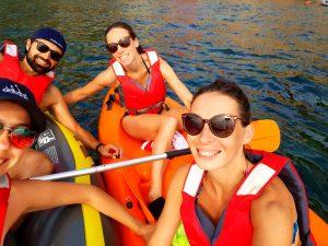 Kayak entre ami aux Cinque Terre