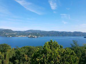 Lac d'Orta dans le Piémont