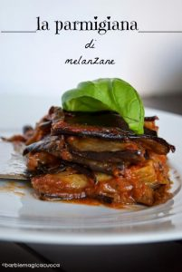 Parmigiana plat italien