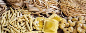 les types de pâtes en italie