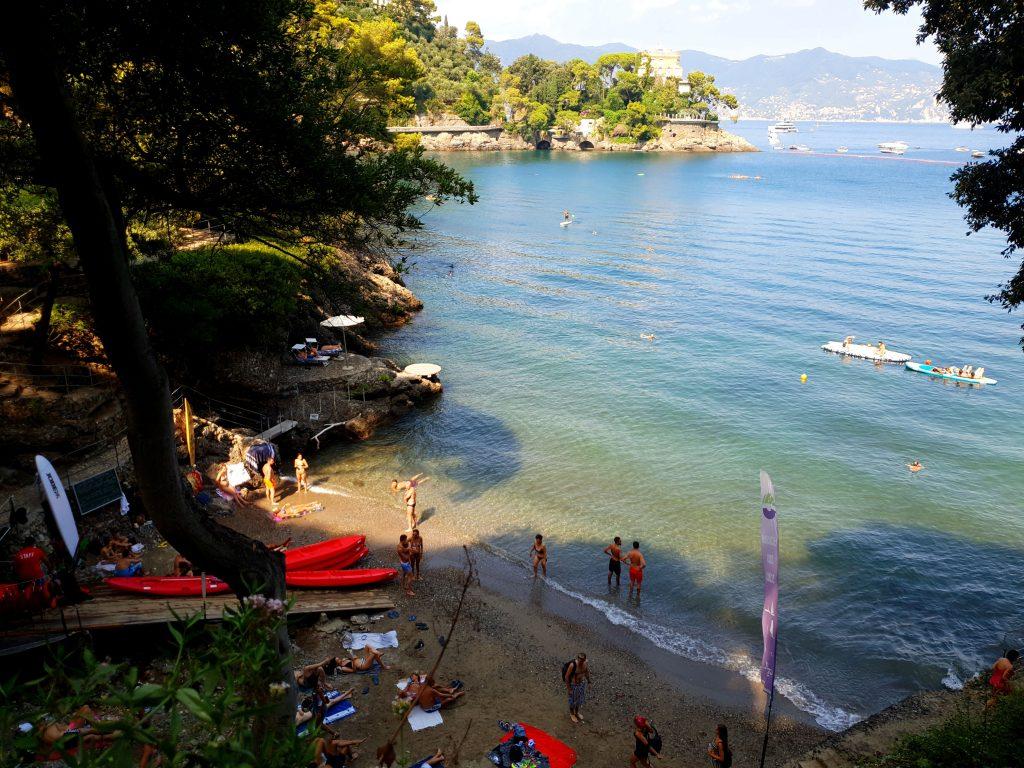 Conseils plage Paraggi Portofino ligurie