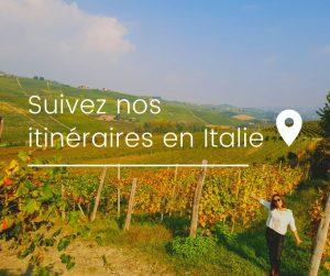 suivez nos itinéraires en italie
