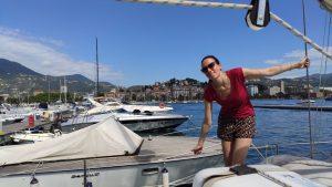 weekend bateau à voile à La Spezia