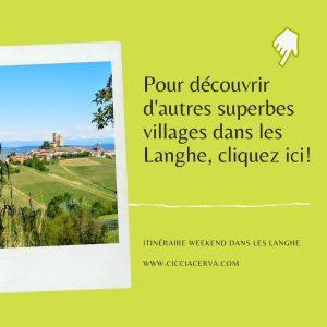 Villages dans les Langhe - article