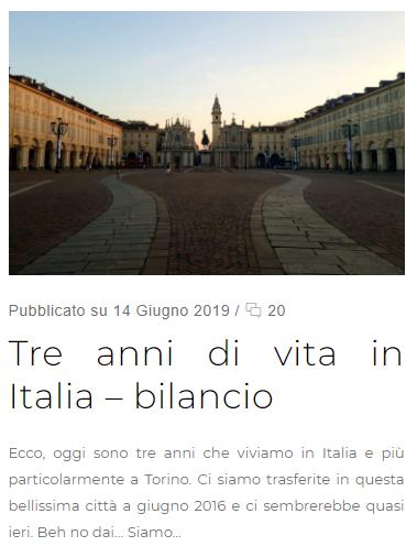 bilancio vita in italia