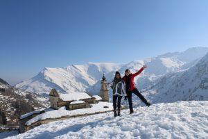 dans les montagnes de Cuneo