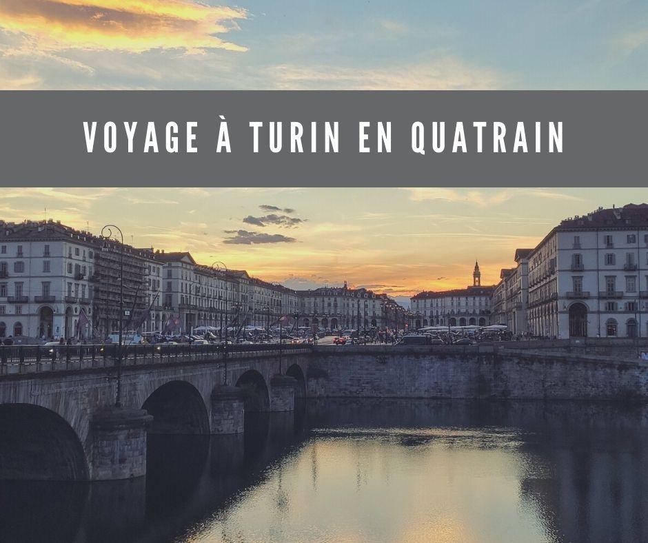 Voyage à Turin en quatrain
